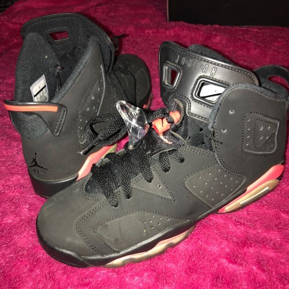 Air Jordan 6 Retro Bg Blackinfrared 23